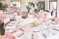 Martini Vase Wedding Arrangement
